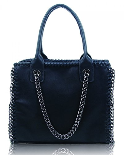 Handbag Holiday Small Black Matching Chain For College School Or Girls Trim Bags Tote Leahward Women's Purse ZnS6OZz
