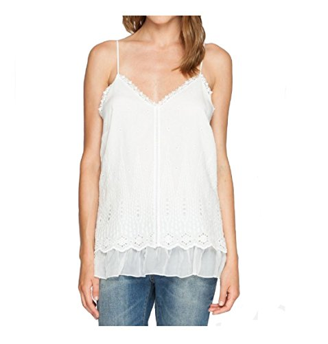 Love and Liberty By Johnny Was Summer Blossom Cami - 1870LL (Large, White) by Liberty Love