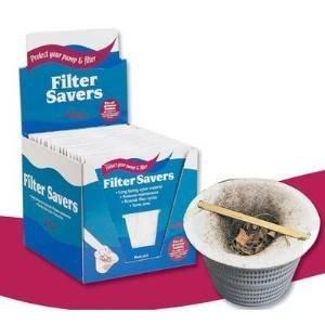 swim safe filter saver 5 packs, socks to keep filters clean skimmer baskets