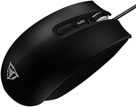 ThunderX3 TM30- Ratón gaming profesional-(Sensor óptico AVAGO 3310, Retroiluminación LED, Switch Omron mecánico, Personalización absoluta) Color Negro