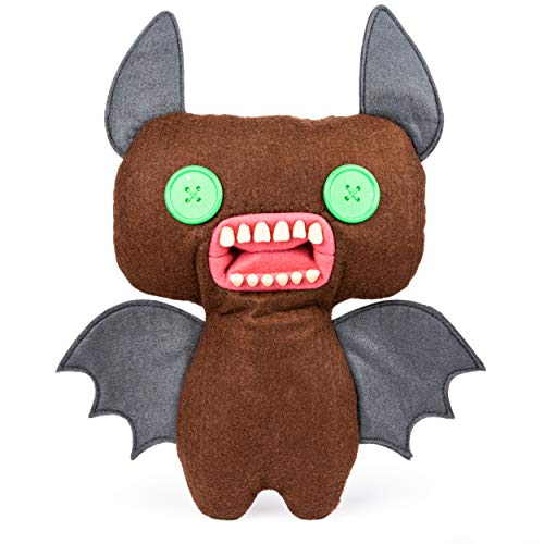 Fugglers, Funny Ugly Monster, 9 Inch Count Fuggula (Brown) Plush Creature with Teeth, for Ages 4 and Up (Count Von Count Plush)