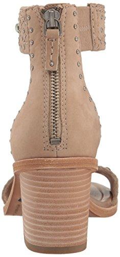 Frye Brielle Deco Back Zip Dress Sandalia Taupe