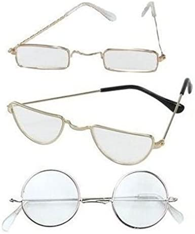 Santa Glasses Father Christmas Specs Festive Season Dress 1 pair Mens Ladies kid