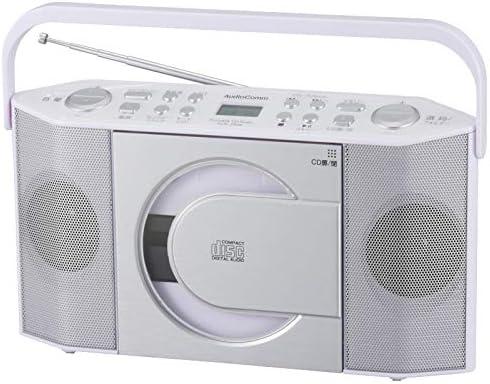 옴 전기 라디오 화이트 (폭) 29.5 × (높이) 16 × (깊이) 7cm / Ohm Electric Radio White (W)29.5×(H)16×Depth 7cm