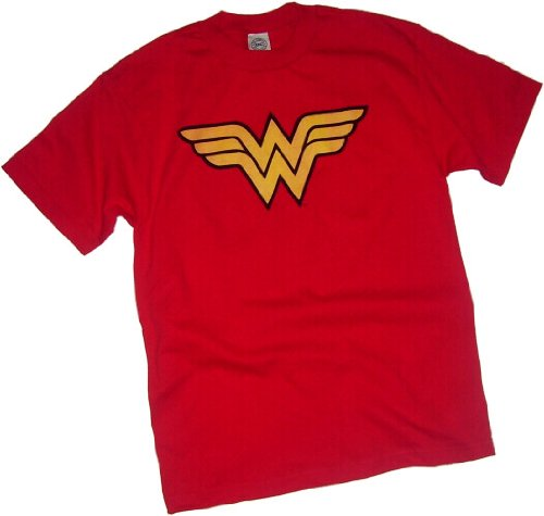 Toddler Wonder Woman Shirt (Wonder Woman Logo Toddler/Juvenile T-Shirt, Toddler Large (4T))