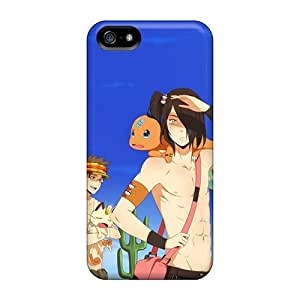 Iphone 5/5s My Pokemon And I Print High Quality Tpu Gel Frame Case Cover