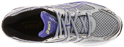 Asics Womens Gel-foundation 8 Scarpa Da Corsa Lightning / Iris / Nero