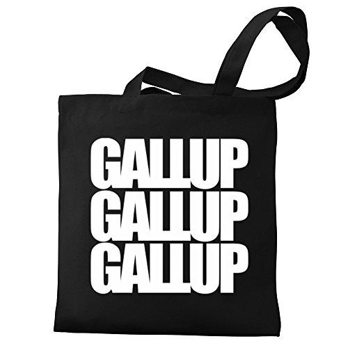 Tote Eddany Gallup Canvas Gallup Bag three words Eddany 1dxHUYgw