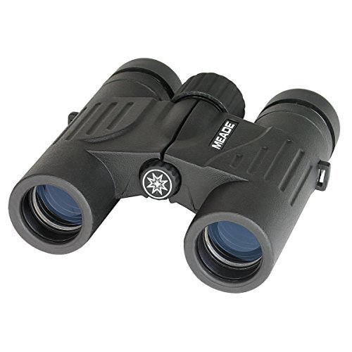 Meade Instruments 125001 10x25 Travel View Binoculars (Black) by Meade by Meade
