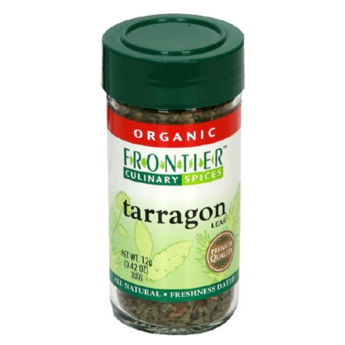 Frontier Organic Tarragon Leaf, 0.42-Ounce Container (Pack of 4) by Frontier