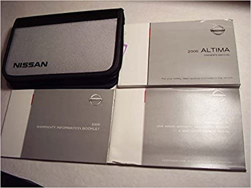 2005 altima nissan owners manual nissan amazon books fandeluxe Images