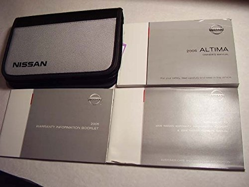 2005 Altima Nissan Owners - Nissan Altima Owners Manual 2005
