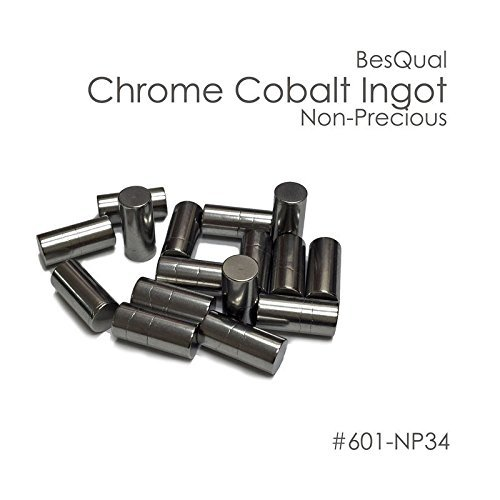 Chrome Cobalt Ingot Alloy NP34 5 oz. Ingots Dental