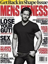 Download Men's Fitness Magazine (January/February, 2015) Joe Manganiello Cover ebook