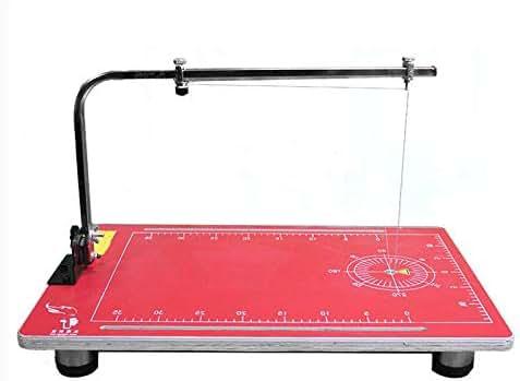 INTBUYING 110V Vertical Foam Cutting Machine Wire Foam Cutter Table with 15x30.7inch