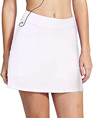 iClosam Falda de Golf Falda de Tenis Corta Deportivo para Mujer ...