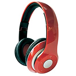 Custom Cast Wireless Headphones (Red) – 300 PCS – $17.49/EA – Promotional Product/Branded with Your Logo/Bulk/Wholesale