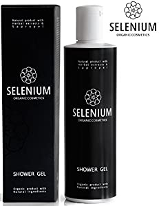 Shower Gel by Selenium - Natural Organic Body Wash with Sapropel Extracts Vitamins and Biological Stimulants for Everyday Use/8,5oz from Selenium Professional Cosmetics