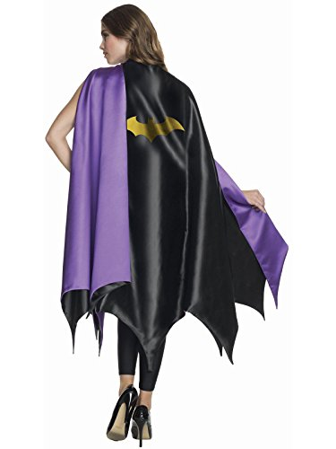 Rubie's Women's DC Superheroes Deluxe Batgirl Cape, Multi, One -