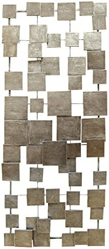 Stratton Home Decor SHD0211 Geometric Tiles Wall Decor
