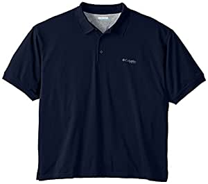 Columbia Men's Perfect Cast Polo Shirt, Collegiate Navy, 2X