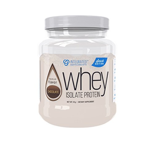 Integrated Supplements CFM Whey Protein Isolate Diet Supplement Snack Edition, Chocolate, 4 serve ()