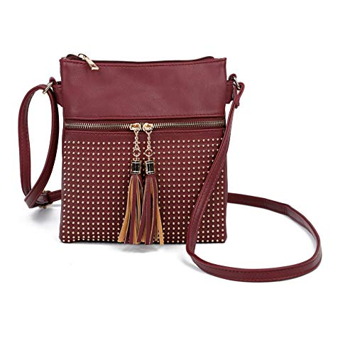 Craze Femme Bandoulière Sac London Bordeaux pqrpBnTx