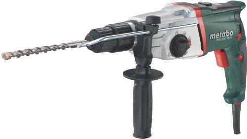 Metabo Bohrhammer UHE 2850 Multi mit Meißelfunktion, Schlagbohrmaschine mit Zweigang-Getriebe, ideal für Holz und Metall mit einer Reichweite von 4 m
