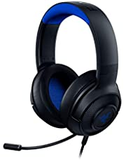 Razer Kraken X Gaming Headset Console Edition - Black/Blue One Size