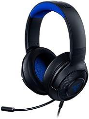 Fone de ouvido Razer Kraken X ultraleve para jogos: som surround 7.1 - microfone dobrável - PC, PS4, PS5, Swit