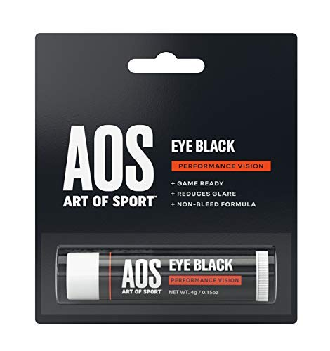 Art of Sport Eye Black for Athletes, Anti-Glare Sun and Stadium Light Protection, Paraben-Free, Use for Baseball, Football, Softball, Lacrosse, 0.15 oz ()