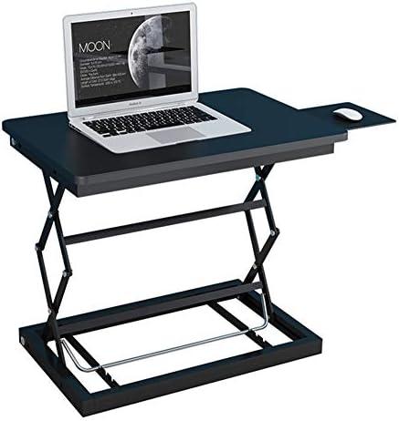 ノートブックコンピュータ用立ち机コンバータ/シットスタンドデスク/デスクライザー/高さ調節可能な卓上スタンド/アップデスクワークステーション/,C