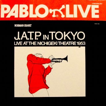 Price comparison product image Pablo Live / J. A. T. P. in Tokyo / Live at the Nichigeki Theatre 1953 (3 LP Box Set w/ Original Inner Sleeves) Oscar Peterson Trio; Gene Kruppa Trio; Ella Fitzgerald, Eldridge, Shavers & More