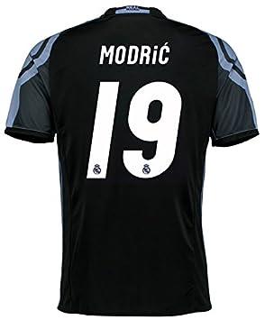 adidas Camiseta del Real Madrid, tercera equipación, para hombre, Modric 19, 176: Amazon.es: Deportes y aire libre