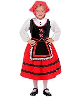 Disfraz de Pastora Infantil (7-9 años): Amazon.es: Juguetes ...