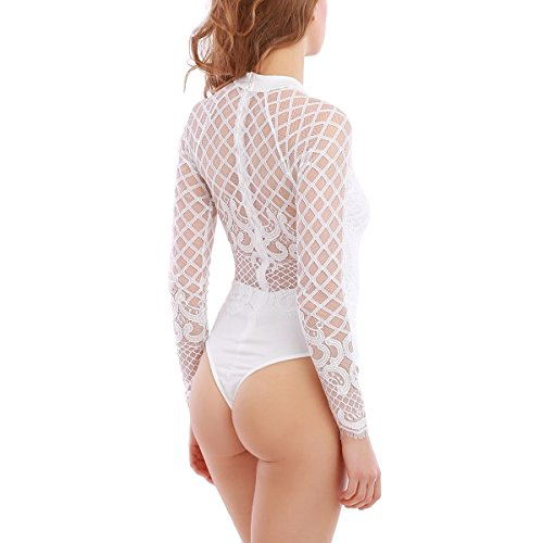 La Modeuse - Body - para mujer blanco