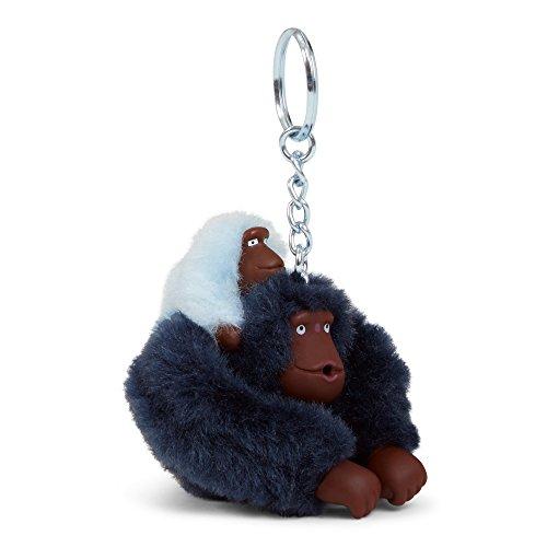 Kipling Women's Baby Monkey Keychain One Size Blue by Kipling