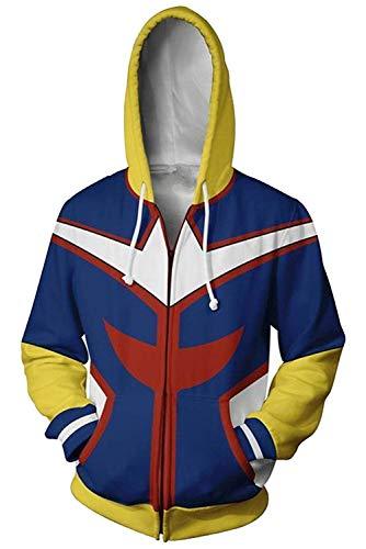 Boku No Hero Academia My Hero Academia Izuku Midoriya Cosplay Costume Training Suit Unisex Hoodie S for $<!--$29.99-->