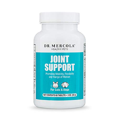 - Dr. Mercola Joint Support for Pets - 60 Chewable Tablets - Natural Joint Supplement: MSM, Bromelain, - Promotes Mobility, Flexibility & Range of Motion