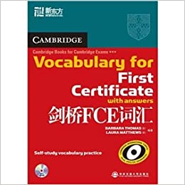 Cambridge Vocabulary For First Certificate Pdf