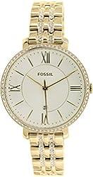 Fossil Women's ES3547 Jacqueline Analog Display Analog Quartz Rose Gold Watch