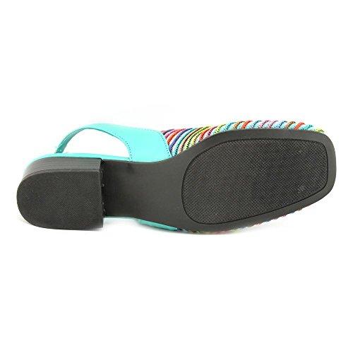 Karen Scott Carolton Women Us 6.5 Blue Slingback Heel