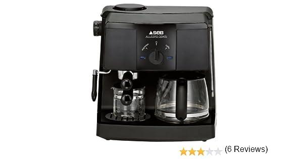 Seb ex1500fr cafetera espresso Espresso Allegro Combi: Amazon.es ...