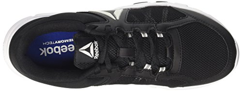 Reebok Herren Yourflex Train 9.0 MT Hallenschuhe Schwarz (Black / White / Skull Grey)