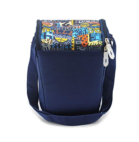 Shopaholic Lunch Box Insulated Bag Keep Food Hot and Warm for Everyone Carrying Tiffin and Food Container/Return Gift for Kids & Teenagers,Women (Break TIME-Sport Print)