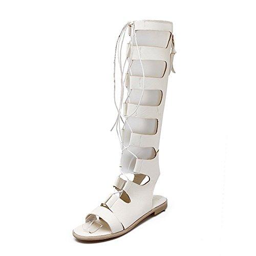 vestir mujer de para Sandalias blanco Adee ETgqf