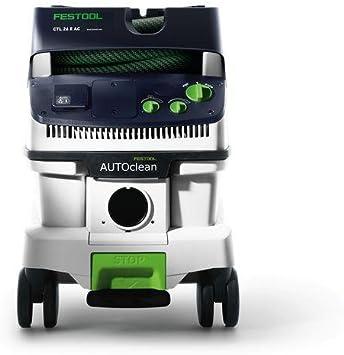 Festool CTL 26 E AC CLEANTEC-Aspirador 574945, Negro y verde, Size ...