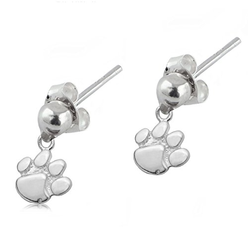 Sterling Silver Baseball Post Earrings - 4