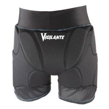 Vigilante Light Padded Shorts with Tailbone and Hip Padding for Snowboarding, Skiing, Skateboarding | Women's Version | Black - Size Small (Size 4-6)