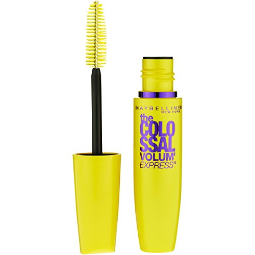 Maybelline Makeup Volum' Express The Colossal Washable Mascara, Glam Brown Mascara, 0.31 fl (Brown Eye Mascara)